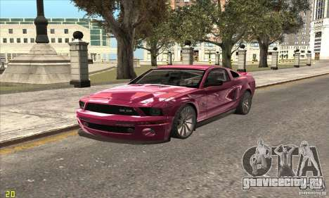 Ford Shelby GT500KR Super Snake для GTA San Andreas