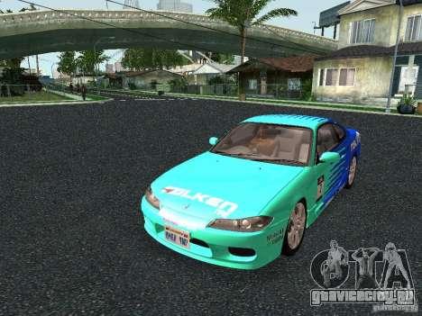 Nissan Silvia S15 Tunable для GTA San Andreas вид слева