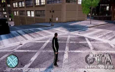 Костюм Adidas для GTA 4 четвёртый скриншот