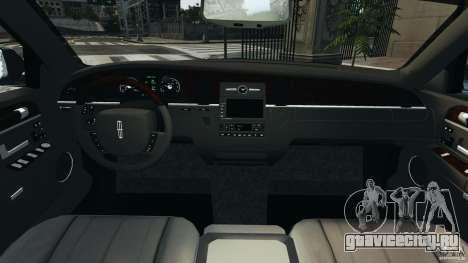 Lincoln Town Car Limousine 2006 для GTA 4 вид справа