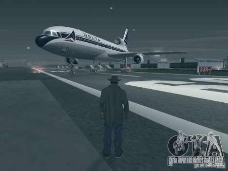 L1011 Tristar Delta Airlines для GTA San Andreas вид слева