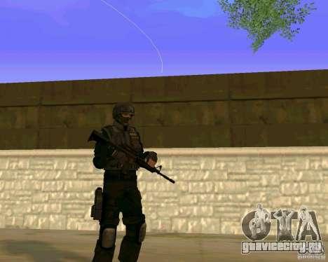 Скин Украинского Спецназа для GTA San Andreas третий скриншот