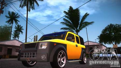 Honda Element LX для GTA San Andreas