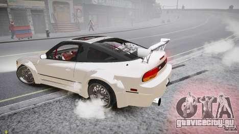 Nissan Sileighty для GTA 4 вид сверху