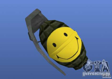 Smiley Granate для GTA 4 третий скриншот