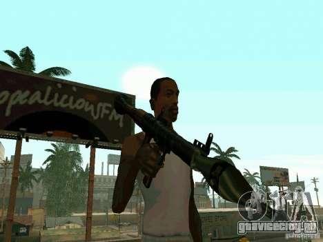 RPG из BF2 для GTA San Andreas второй скриншот