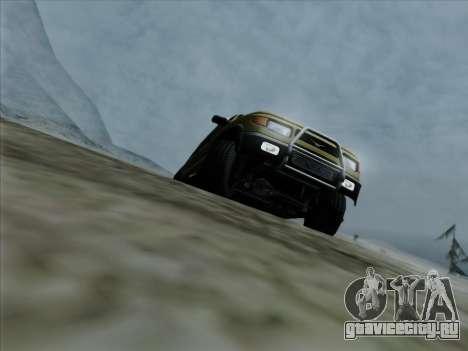 УАЗ 2760 для GTA San Andreas двигатель