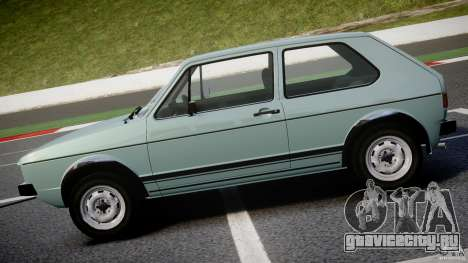 Volkswagen Golf Mk1 для GTA 4 вид слева
