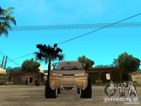 Ford Intruder 4x4 Concept + Caravan для GTA San Andreas вид справа