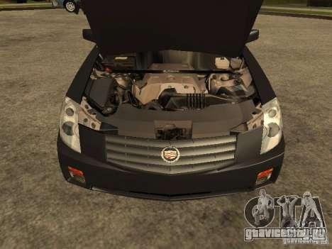 Cadillac CTS для GTA San Andreas вид справа