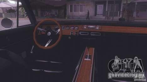Dodge Charger R/T для GTA San Andreas вид сзади слева