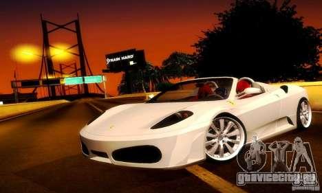 Ferrari F430 Spider для GTA San Andreas