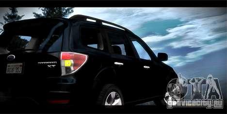 Subaru Forester XT 2008 для GTA San Andreas вид снизу
