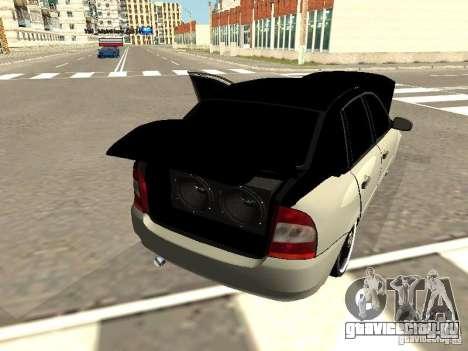 Лада Калина для GTA San Andreas вид сзади