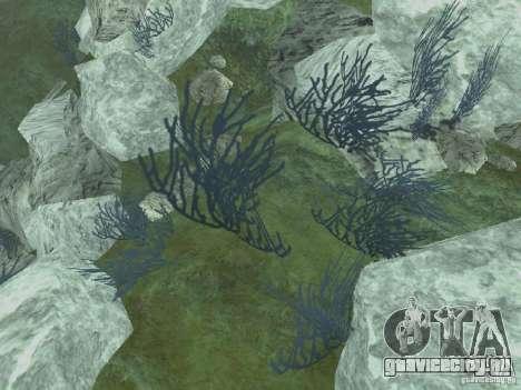 HD текстуры морского дна для GTA San Andreas четвёртый скриншот