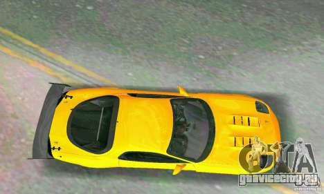 Mazda RX7 RE-Amemiya для GTA Vice City вид изнутри