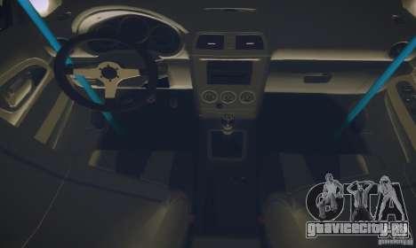 Subaru Impreza WRX STI Futou Battle для GTA San Andreas вид изнутри