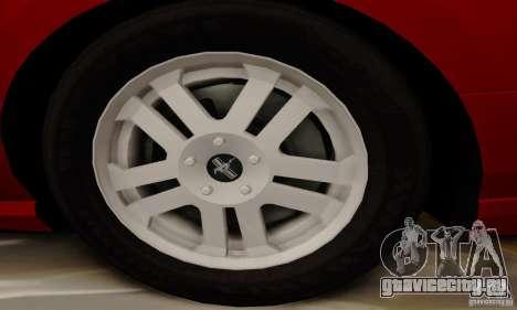 Ford Mustang 2010 для GTA San Andreas вид сбоку