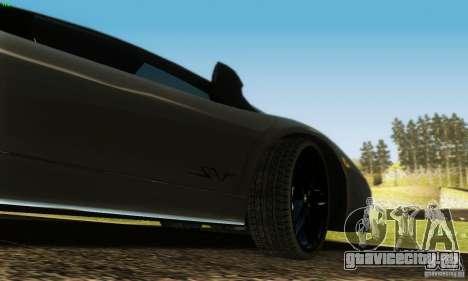 Lamborghini Murcielago LP 670-4 SV для GTA San Andreas вид сверху