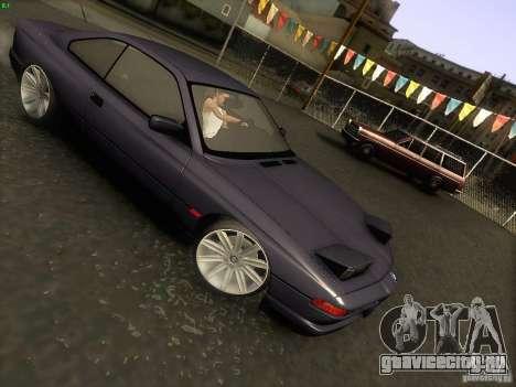 BMW 850 CSI для GTA San Andreas вид сбоку