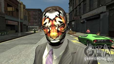 Tatoo Tiger для GTA 4
