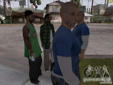Вин Дизель для GTA San Andreas второй скриншот