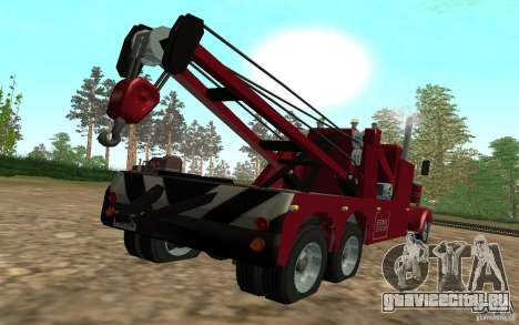 Kenworth Towtruck для GTA San Andreas вид слева