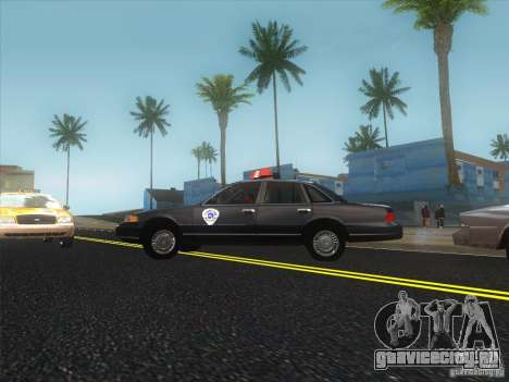 Ford Crown Victoria 1992 Detroit OCP для GTA San Andreas вид слева