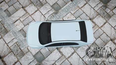 Volkswagen Voyage Comfortline для GTA 4 вид справа