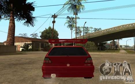 Volkswagen Golf 2 GTI Tuned для GTA San Andreas