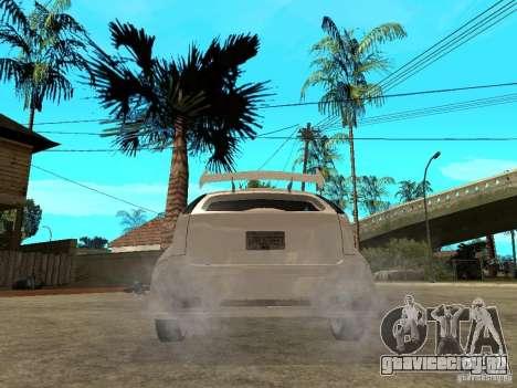 Ford Focus Tuned для GTA San Andreas вид сзади слева
