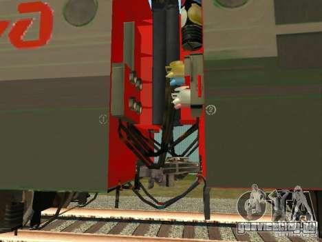 ВЛ80м - 1785 РЖД для GTA San Andreas вид сзади