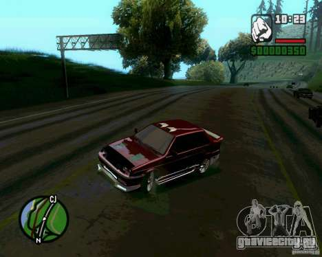 Ваз 21099 NFS Tuning для GTA San Andreas