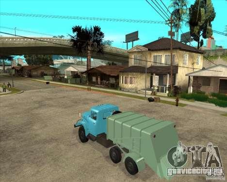 ЗИЛ 131 мусоровоз для GTA San Andreas вид слева