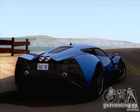Marussia B2 2010 для GTA San Andreas вид слева