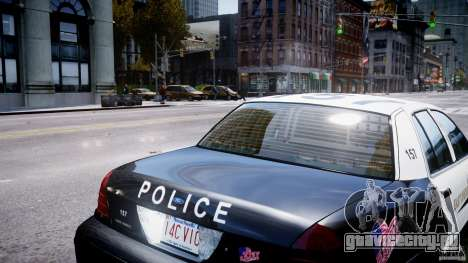 Ford Crown Victoria Massachusetts Police [ELS] для GTA 4