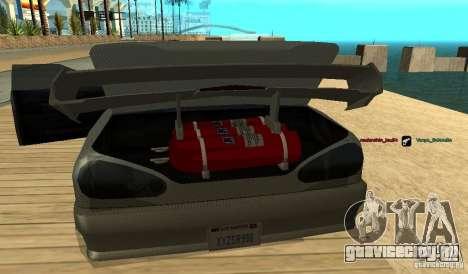 Elegy v1.1 для GTA San Andreas вид сзади слева