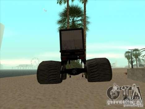 Прицеп к Monsterous Truck для GTA San Andreas вид сзади слева