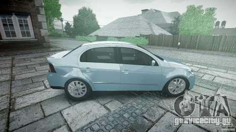 Volkswagen Voyage Comfortline для GTA 4 вид сбоку