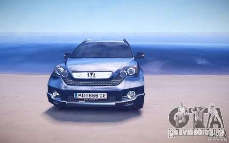 Honda CR-V Light Tuning для GTA 4 двигатель