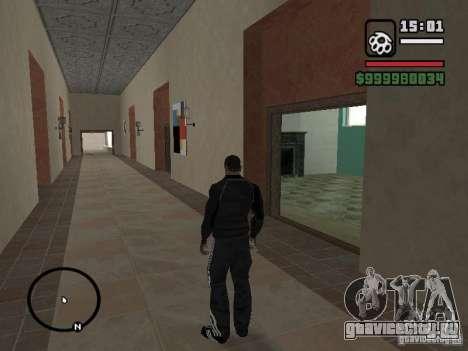 Костюм Adidas для GTA San Andreas третий скриншот