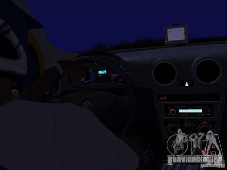 Volkswagen Gol Rallye 2012 для GTA San Andreas вид справа