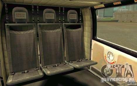 MD 902 Explorer для GTA San Andreas вид сзади