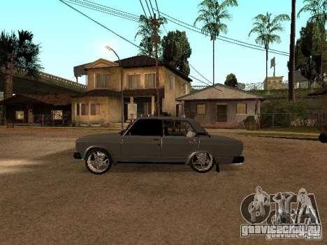 Vaz 2107 для GTA San Andreas