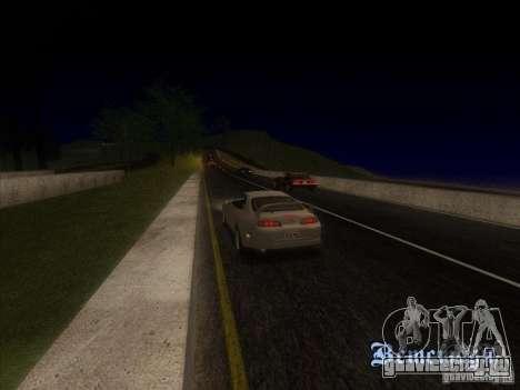 ENBSeries 0.075 для слабых ПК для GTA San Andreas второй скриншот