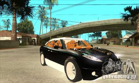 Spyker D8 Peking-to-Paris для GTA San Andreas вид сзади
