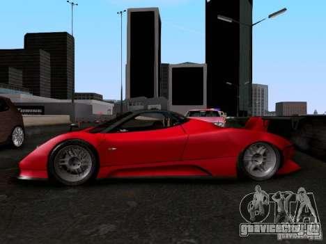 Pagani Zonda EX-R для GTA San Andreas вид справа