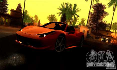 SA_gline 4.0 для GTA San Andreas