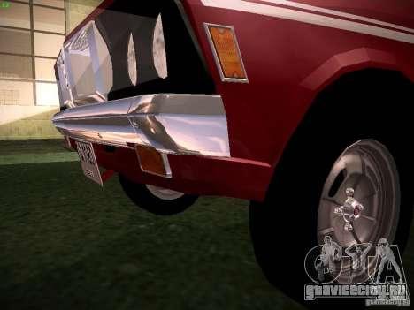 Mitsubishi Galant GTO-MR для GTA San Andreas вид изнутри