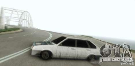 Ваз 2109 Бродяга для GTA San Andreas вид сзади